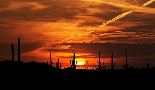 Goodyear Arizona Desert Sunset