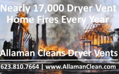 Top 5 Reasons to Clean Your Clothes Dryer Vents in Your Arizona Home