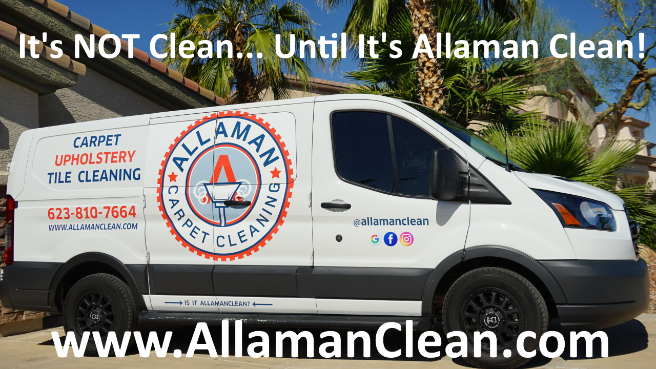 Allaman Carpet Cleaning Litchfield Park Goodyear Avondale Arizona