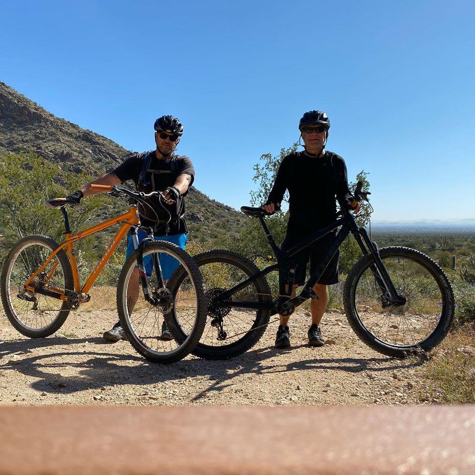 Mountain biking in Estrella and Verrado Buckeye Arizona
