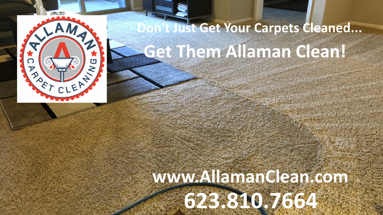 cleaning carpet and tile in Peoria Arizona
