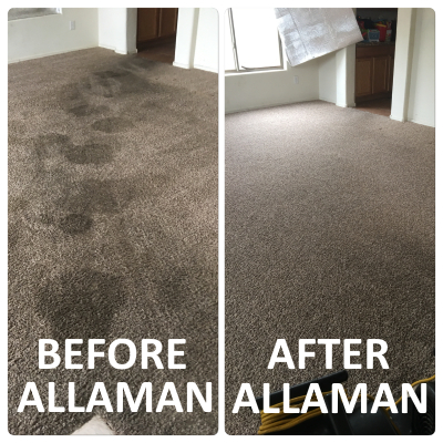 Surprise Arizona Carpet Cleaning Before and After Pics
