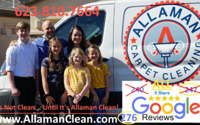 Allaman Carpet Cleaning 276 ALL 5 STAR Reviews on Google