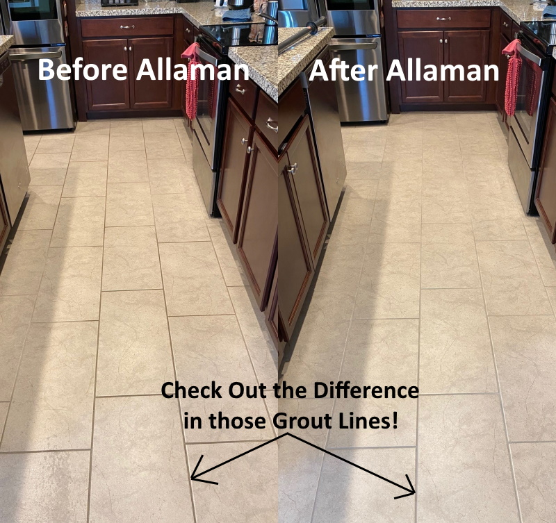 Professional Tile and grout cleaning in Peoria Arizona