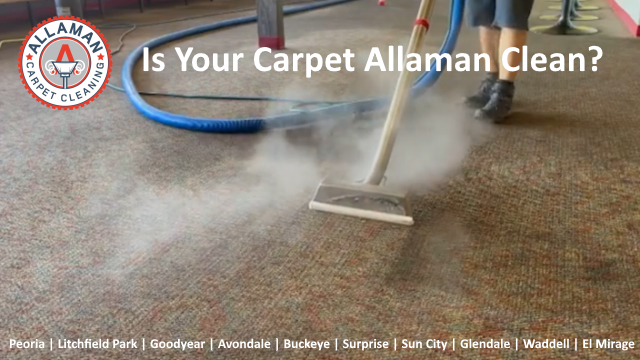 Goodyear AZ. BEST carpet cleaner Zero Residue carpet cleaning chemical free steam cleaning for carpet tile and upholstery in Goodyear Arizona