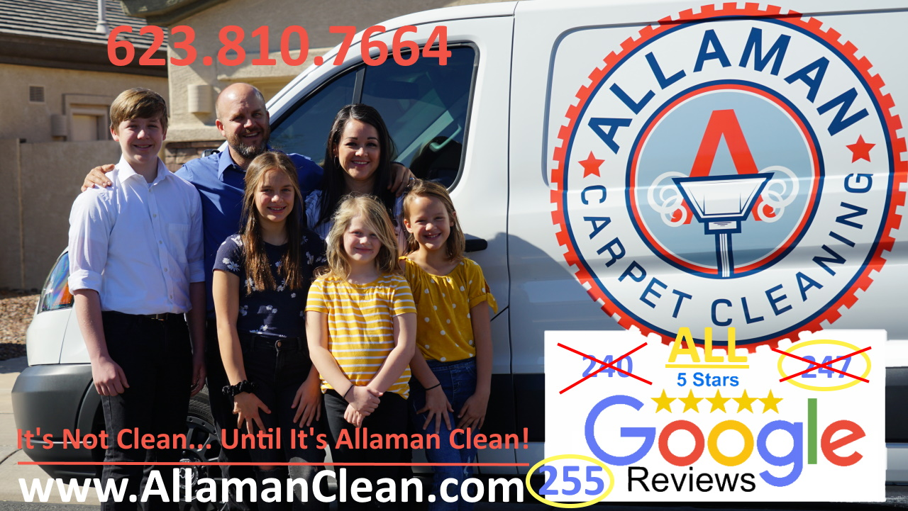 Glendale Arizona Professional Tile, Carpet and Upholstery Cleaner in the Phoenix West Valley city of Glendale AZ