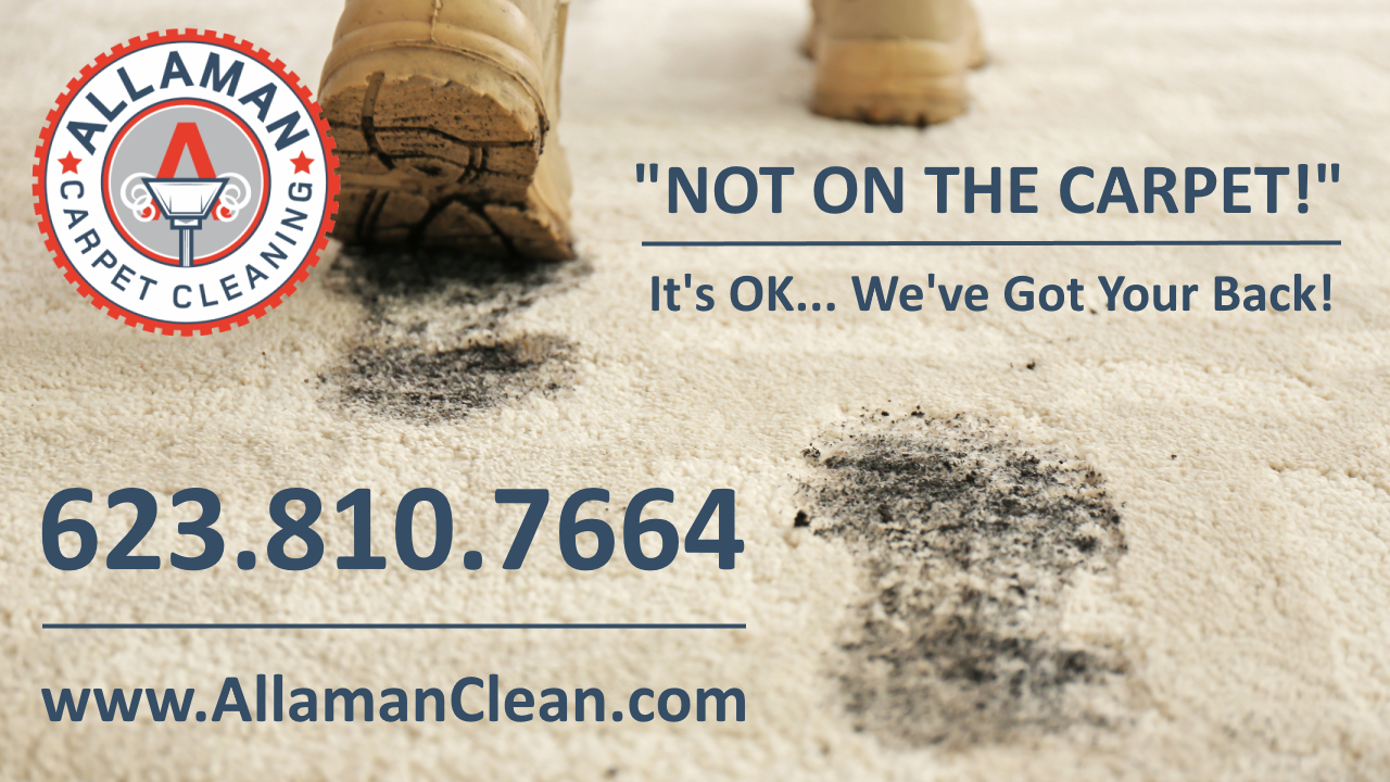 Glendale Arizona Carpet Tile and Upholstery cleaning by Allaman Carpet Cleaning