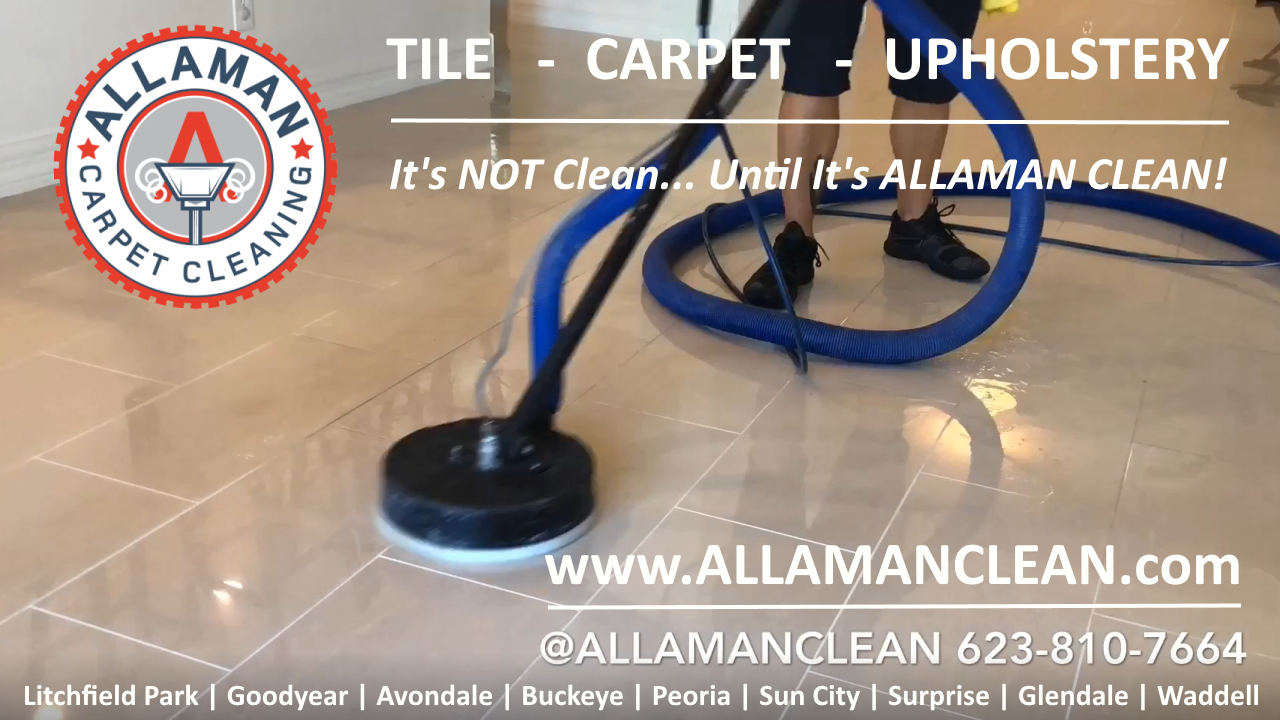 Glendale Tile and Grout Cleaning in Glendale Arizona