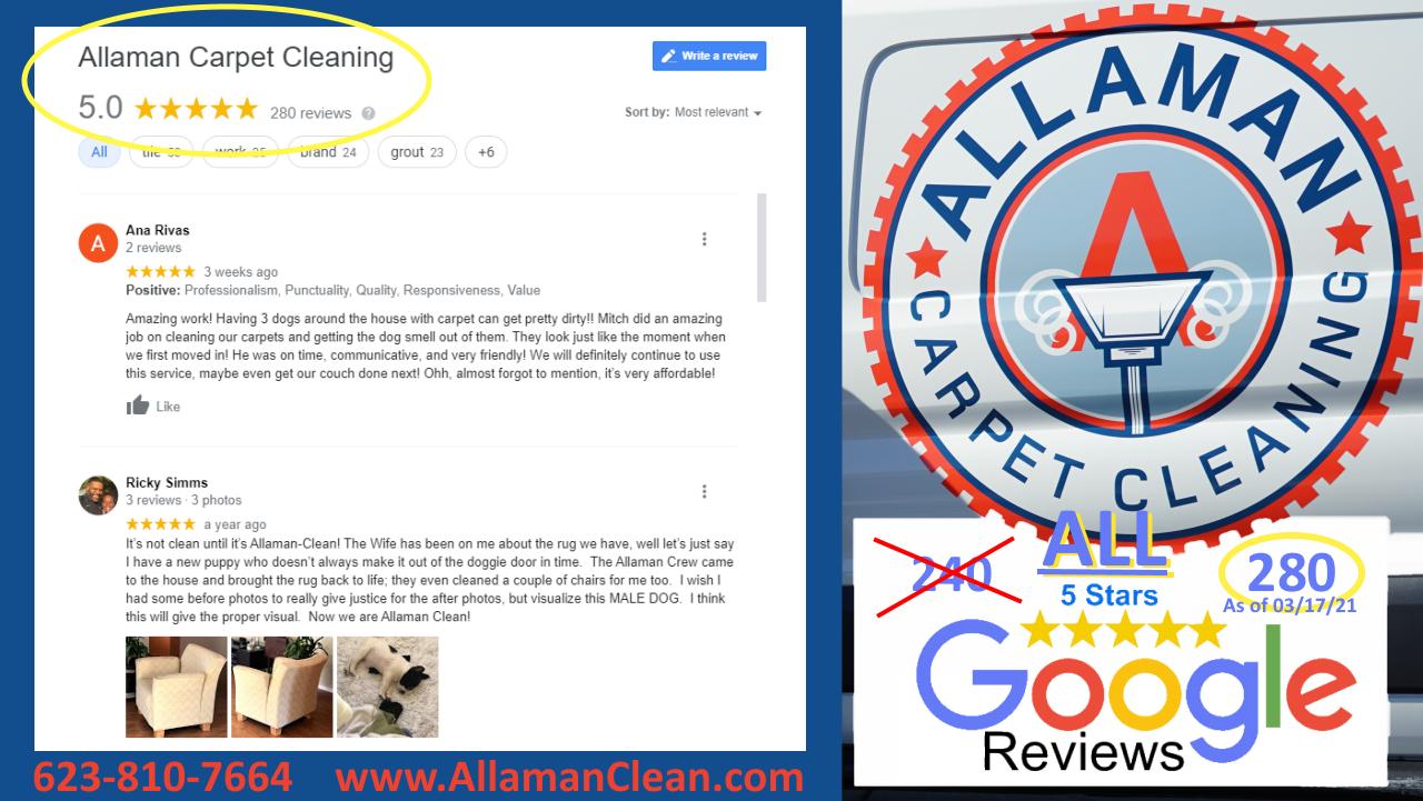 Glendale AZ Tile Cleaning Review 5 Stars